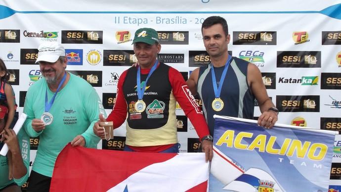 Canoísta Hiel Gesã na Copa Brasil (Foto: Arquivo pessoal/Hiel Gesã)