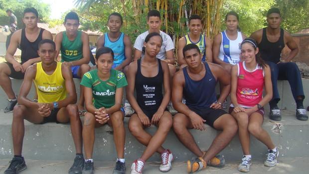 Olimpíadas Escolares 2012 - Atletismo - Piauí (Foto: Josiel Martins/GLOBOESPORTE.COM)