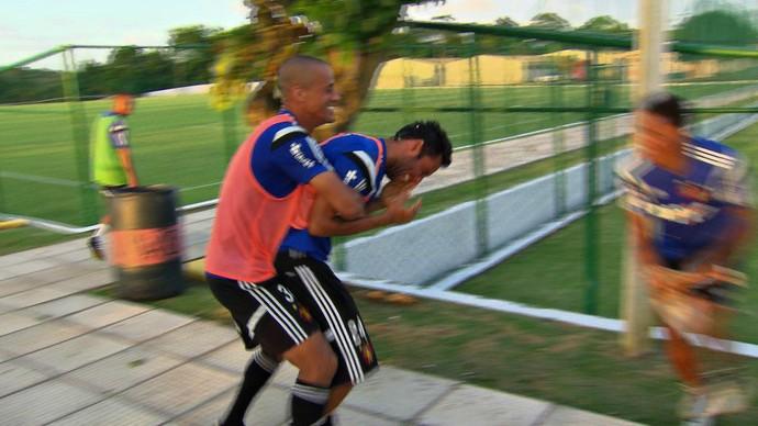 Ibson treino Sport (Foto: Reprodução/TV Globo)