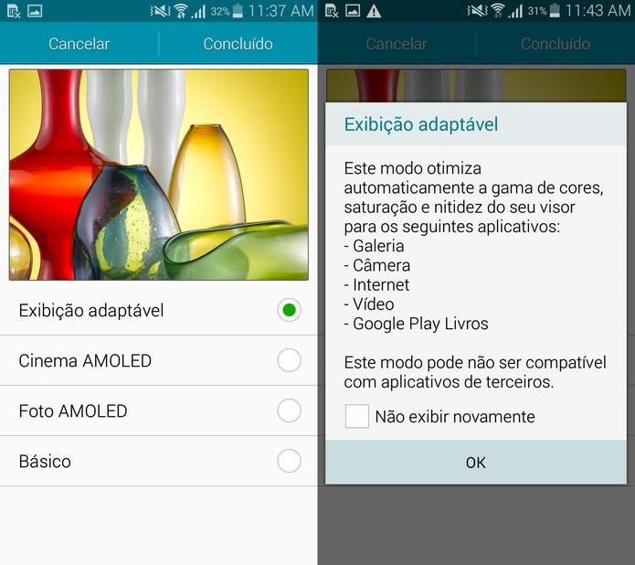 Tela Galaxy A5 (Foto: Reprodução)