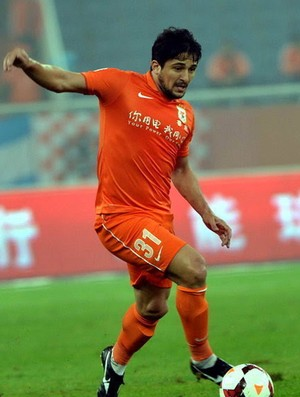 aloisio  Shandong Luneng (Foto: Divulgação/OSPORTS)