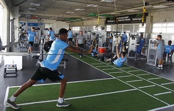 Além do psicológico, Grêmio recupera físico para retornar à rotina de decisão
