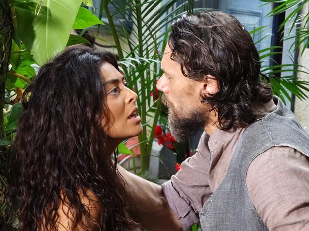Clemente não consegue esquecer Gabriela (Foto: Gabriela / TV Globo)