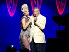 Lady Gaga e Tony Bennettcantam nofestival de jazz de Montreux
