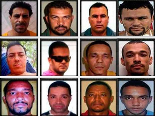 e03bc384c Algumas das fotos dos suspeitos divulgadas pela polícia nesta sexta-feira  (4) (