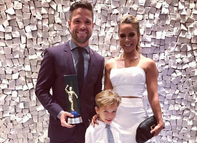 Diego Flamengo Prêmio Craque do Brasileirão (Foto: Reprodução / Twitter)