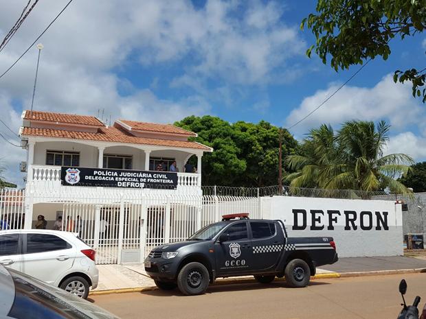 Unidade da delegacia foi inaugurada em Cáceres (MT) (Foto: Divulgação/Polícia Civil)