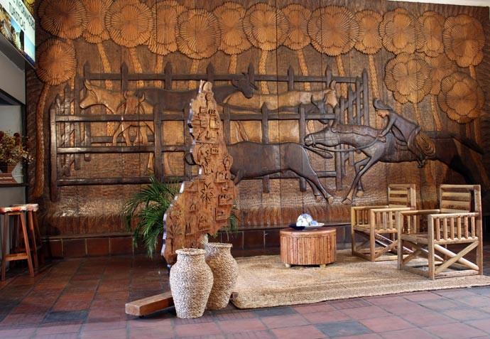 Central de Artesanato é  uma das maiores feiras de arte e cultura do Piauí (Foto: Katylenin França/Gshow)