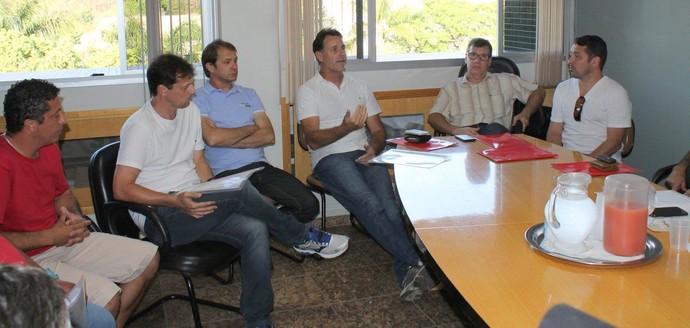 Sorato e Carlos Germano serão consultores do Rio Branco-VN (Foto: Arquivo Pessoal/Márcio Willian Cerebrinho)