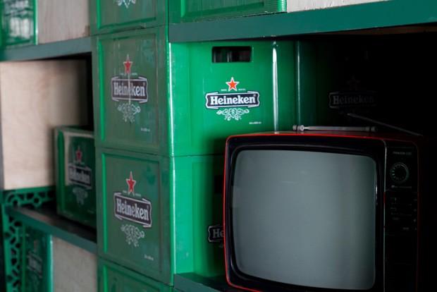 Salas serão decoradas com objetos e imagens retrô da marca (Foto: Divulgação)