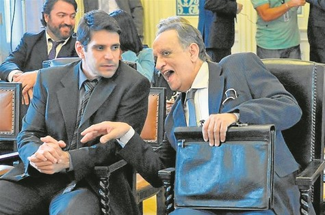 Alexandre Barillari e Bemvindo Siqueira (Foto: Munir Chatack/Record)