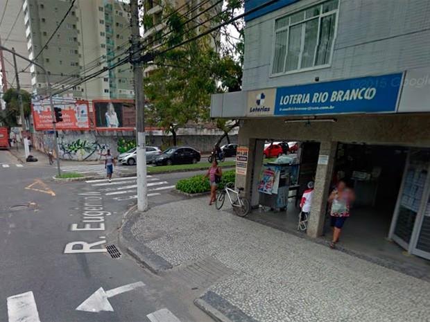 Lotérica Rio Branco (Foto: Reprodução/ Google Street View)
