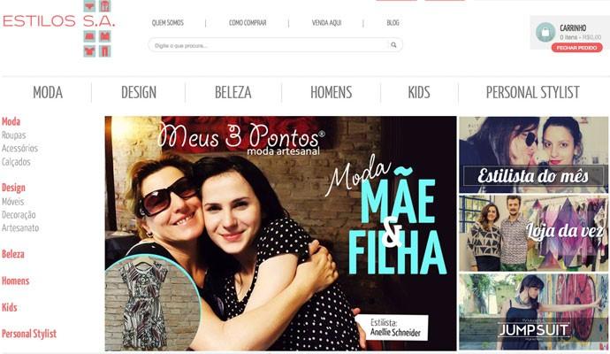 Central de lojas on-line Roupas S.A. virou Estilo S.A. para reunir também peças de design e cosméticos.