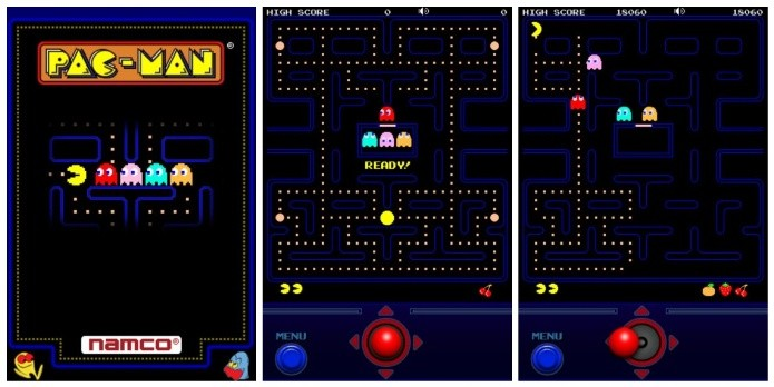 O clássico Pac-Man agora no celular (Foto: Divulgação)