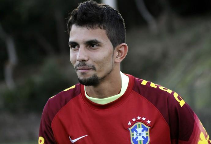 Marcos Felipe, goleiro do Fluminense e seleção Sub-21 (Foto: Carlos Alberto da Silva/A Gazeta)