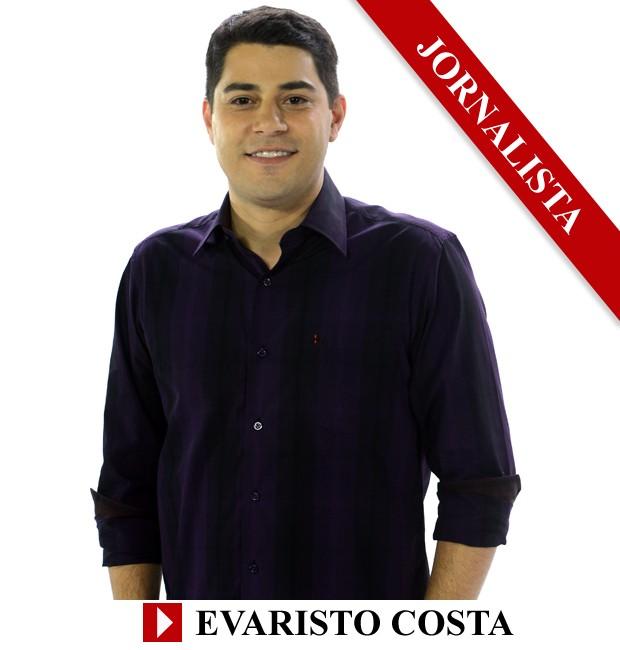 Premio QUEM 2013 Jornalista Evaristo Costa (Foto: Arte: Eduardo Garcia)