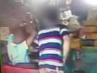 Jovens assaltam supermercado no DF e são detidos; veja vídeo