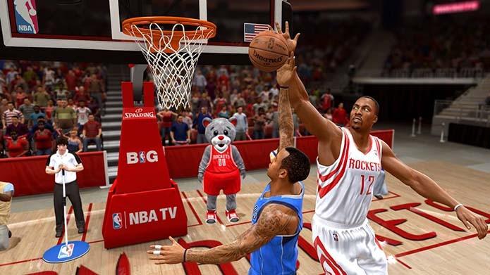NBA Live 14 fez feio em seu retorno (Foto: Reprodução)