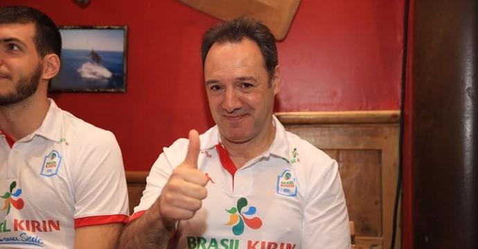 Horacio Dileo, técnico Campinas (Foto: Cinara Piccolo/ Divulgação Brasil Kirin)