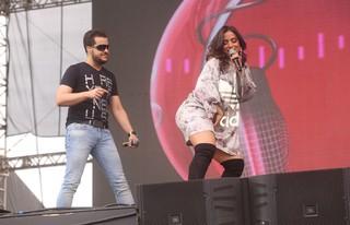 Show de Anitta com João Neto e Frederido no festival Brahma Valley (Foto: Iwi Onodera / EGO)