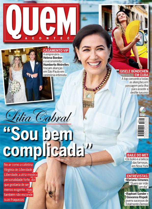 Lilia Cabral (Foto: Marcelo Tabach/Ed. Globo)