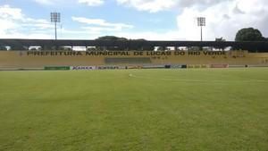 Estádio Passo das Emas (Foto: Paulo Victor Araújo/Divulgação)