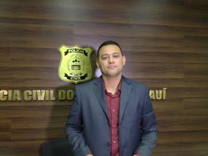 Riedel Batista, delegado geral da Polícia Civil do Piauí (Foto: Ellyo Teixeira/G1)
