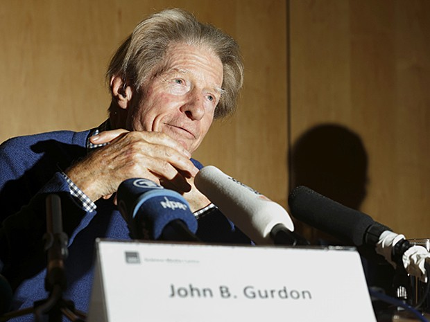 John B Gurdon Nobel de Medicina 2012 (Foto: Justin Tallis/AFP)