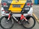 Bike de R$ 15 mil roubada de triatleta durante prova é recuperada pela PM