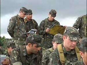 Exército Uberlândia (Foto: reprodução/TV Integração)
