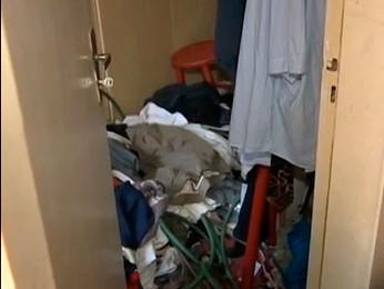 Local onde enfermeira era mantida (Foto: Reprodução/RBS TV)