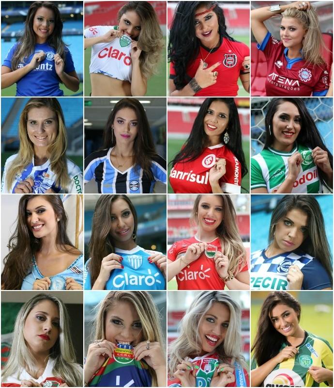 Resultado de imagem para musas brasileirao 2015