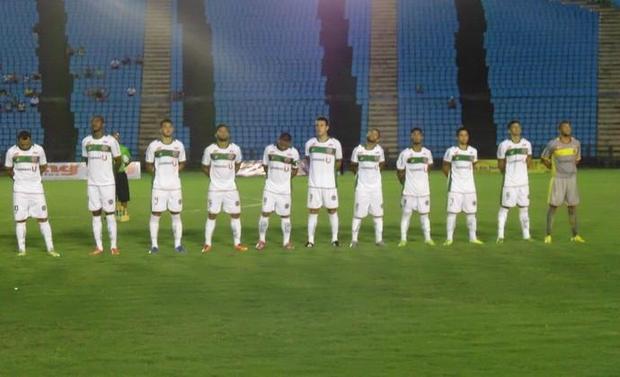 Time titular do Ipatinga tem duas baixas para enfrentar o Nacional (Foto: Wilkson Tarres/Globoesporte.com)