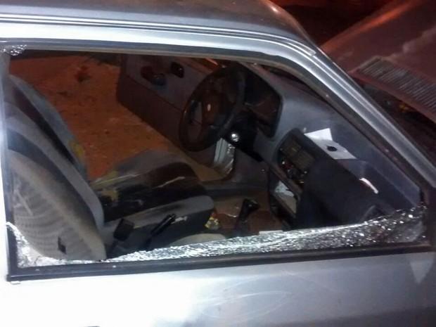 Caso foi na Rua Abílio Nascimento, em Presidente Prudente (Foto: Polícia Militar/Cedida)