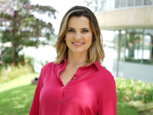 Juliana Perdigão, apresentadora do Terra de Minas (Foto: Henrique Stênio/TV Globo)