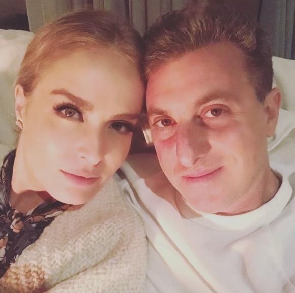 Angélica comemora 13 anos de casada com Luciano Huck