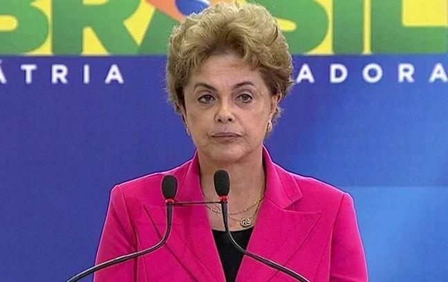 Dilma Rousseff usa o Palácio do Planalto como palanque (Foto: Arquivo Google)