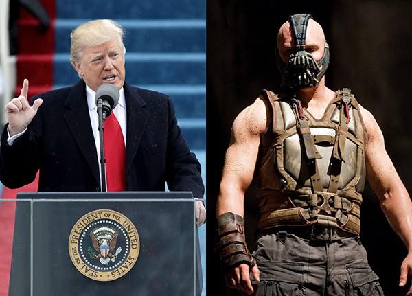 Donald Trump e Bane (Foto: Getty Images / Divulgação)