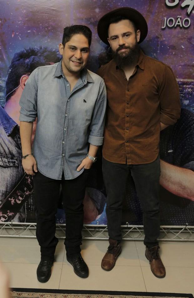 Jorge e Mateus (Foto: Ricardo Cardoso/Ed. Globo)