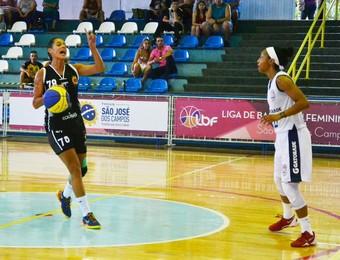 São José e Maranhão - Liga de Basquete Feminino (Foto: Tião Martins / PMSJC)