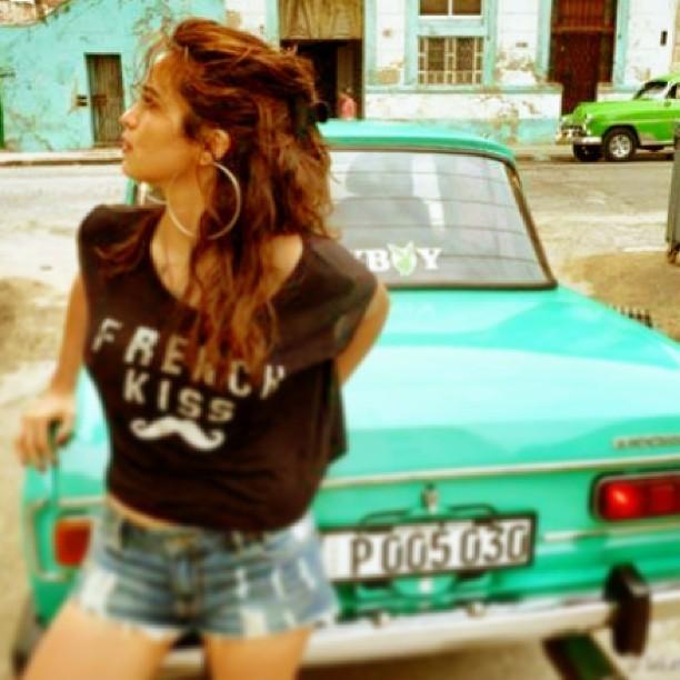 Nanda Costa em Havana, Cuba (Foto: Instagram/ Reprodução)