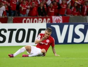 D'Alessandro meia Inter Internacional Santa Fé (Foto: Diego Guichard / GloboEsporte.com)