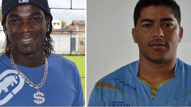 Confiança libera Miro Bahia e André Tavares e eles deixam o time azulino (Foto: GLOBOESPORTE.COM)