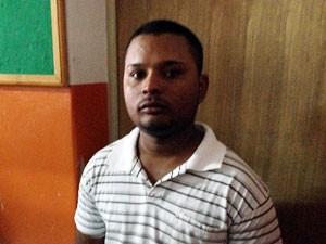 Wellington de Jesus afirma que era o alvo da polícia em ação realizada em Amargosa (Foto: Ruan Melo/G1)