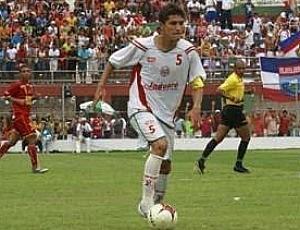Volante Bruno Caetano também atuou no Jaguaré (Foto: Divulgação/FES)