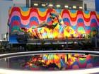 Eduardo Kobra faz em Tóquio mural 'Rio', com imagem do Cristo Redentor