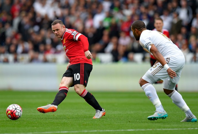 Rooney Manchester United Swansea (Foto: Getty Images)