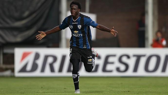 Luis Caicedo - Independiente del Valle x Guaraní  (Foto: EFE)