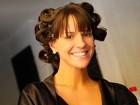 Veja os bastidores do ensaio da panicat Carol Dias para o Paparazzo