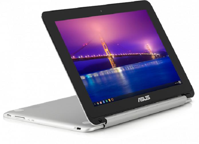 Chromebook Flip é produzido pela ASUS e pode ser usado como notebook ou tablet (Foto: Divulgação)